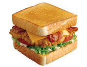 Chicken Club TOASTER Sandwich